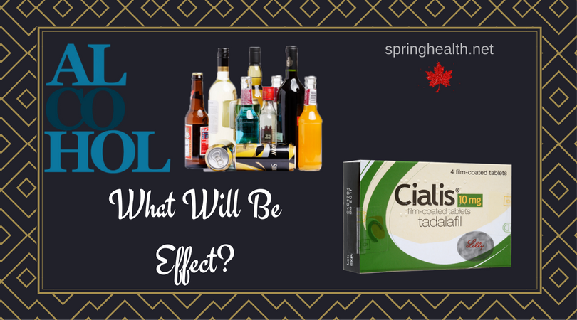Cialis and alcohol